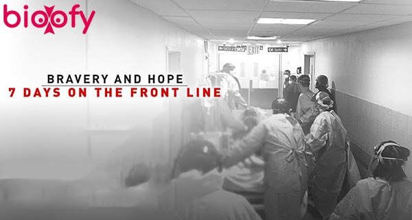 Bravery and Hope 7 Days on the Front Line Cast