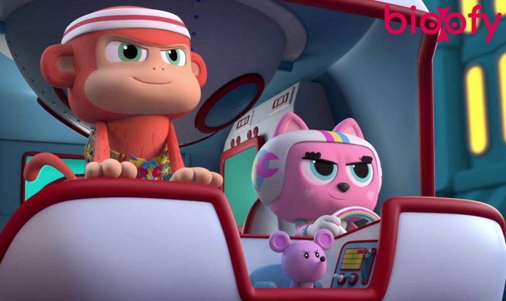 Chico Bon Bon Monkey with a Tool Belt Netflix