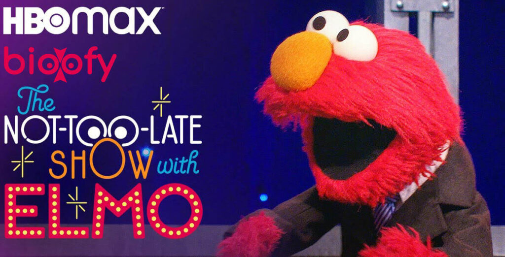 The Not Too Late Show With Elmo Cast